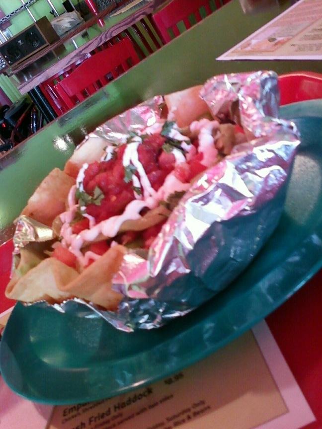 Consuelas taco salad bowl