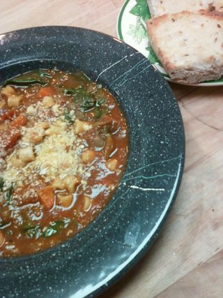 Soup beef minestrone