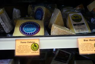 Food co-op cheeses