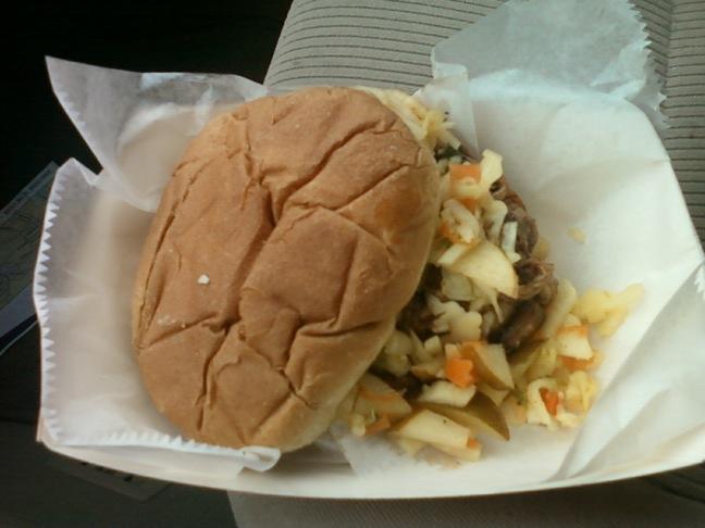 Foodtruck mojo sandwich