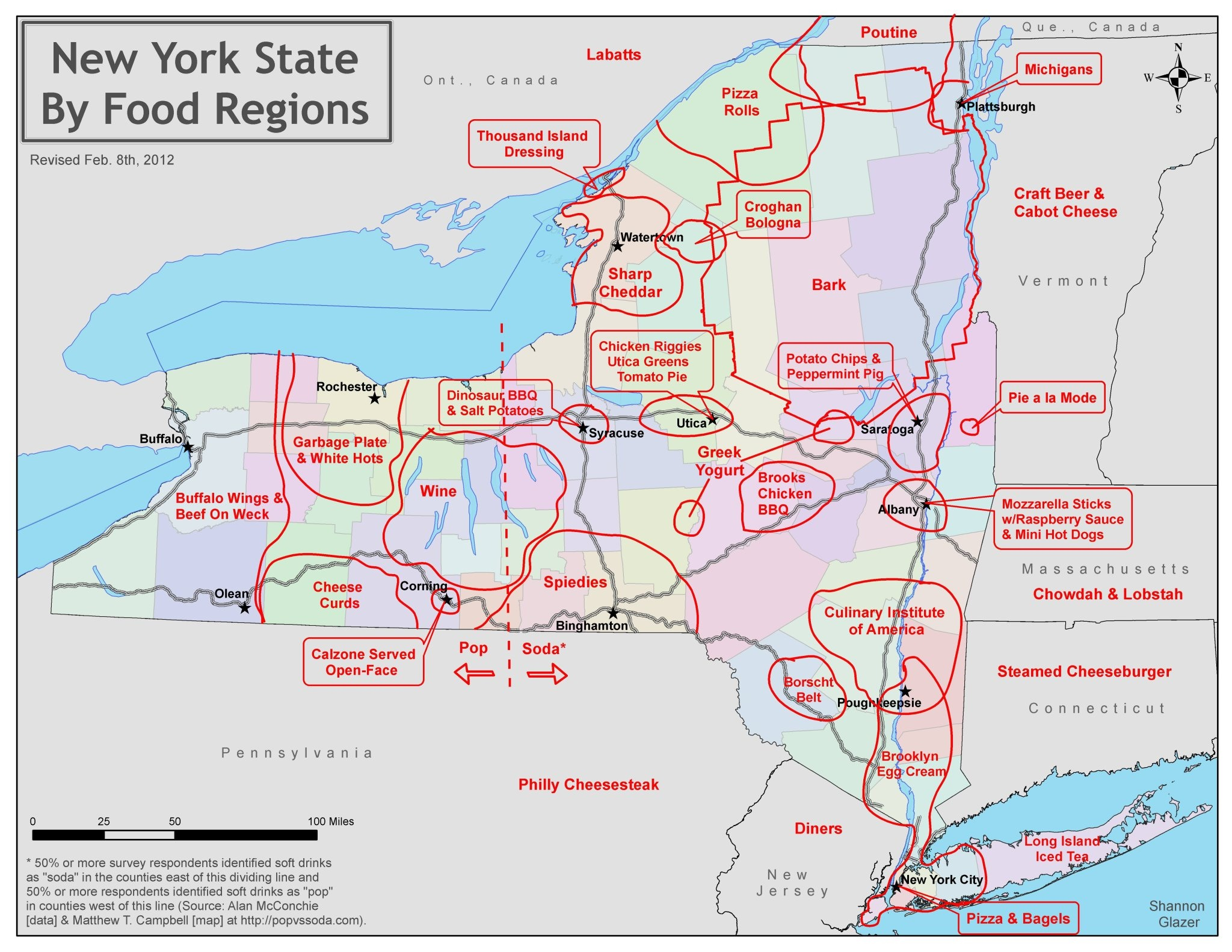 Eat First In A New York Food Map State Of Mind