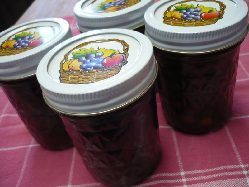 Canning jars jam ican12