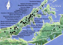 NOFO LI wineries map