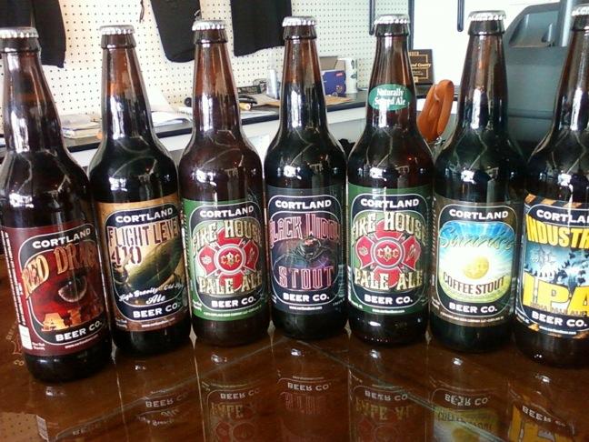 Cortland beer co lineup