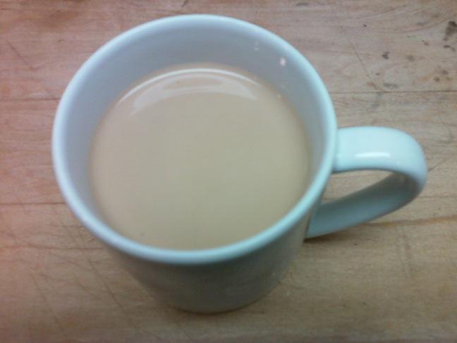 Chai white mug H