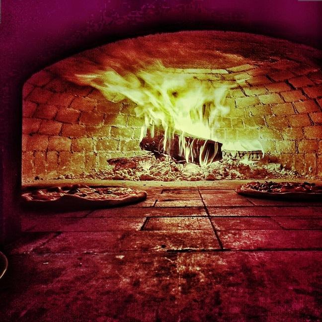 Ironwood pizza oven shot