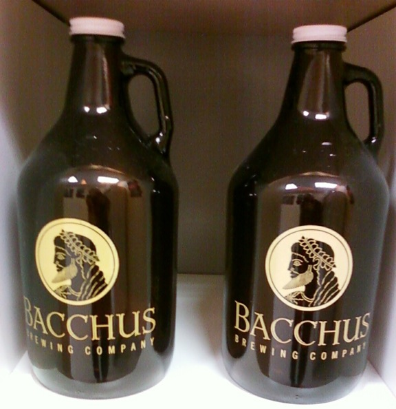 Bacchus growlers