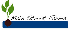 Aquaponics main street farms logo