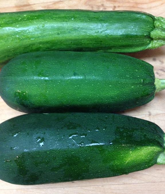 Three zucchini V