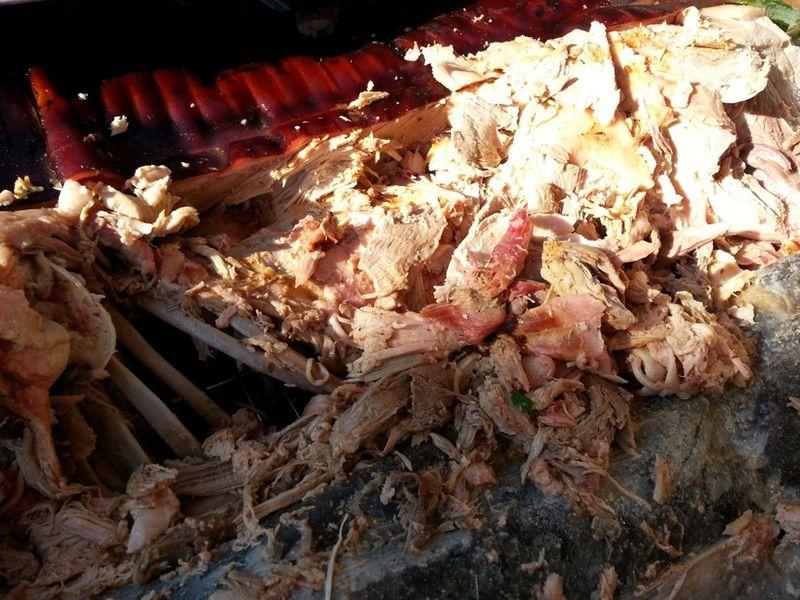 Pig pickin pulled pork