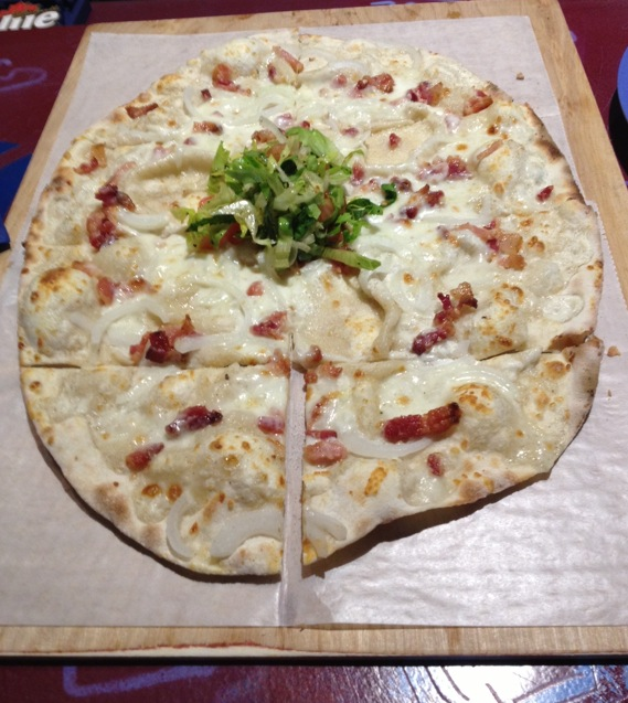 Flame Alsace Pizza