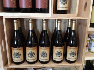 Greenwood chardonnay bottles