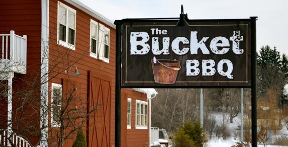 Bucket Signage