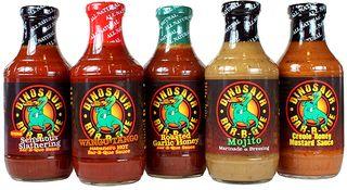 SNT Dinosaur BBQ Sauces