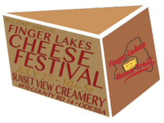 FLX cheese festival logo
