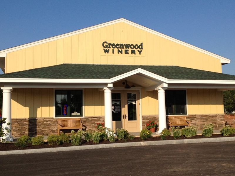 Greenwood winery building