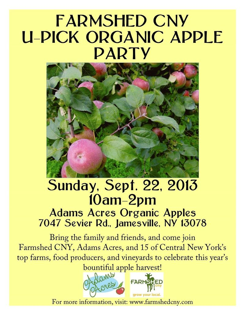 Farmshed CNY U-Pick Apple Poster