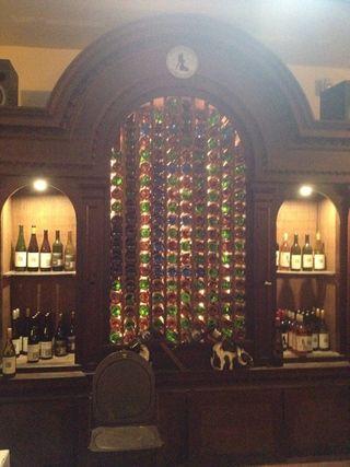 Eremita bottles interior
