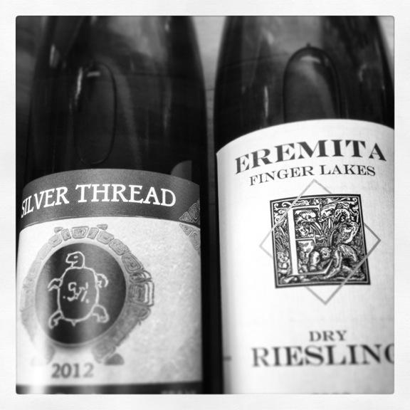 Eremita silver thread bottles