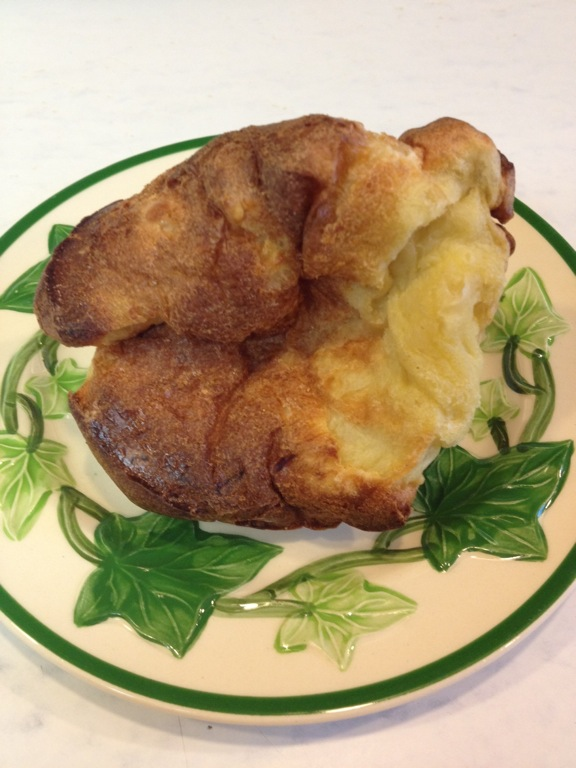 Popover on plate