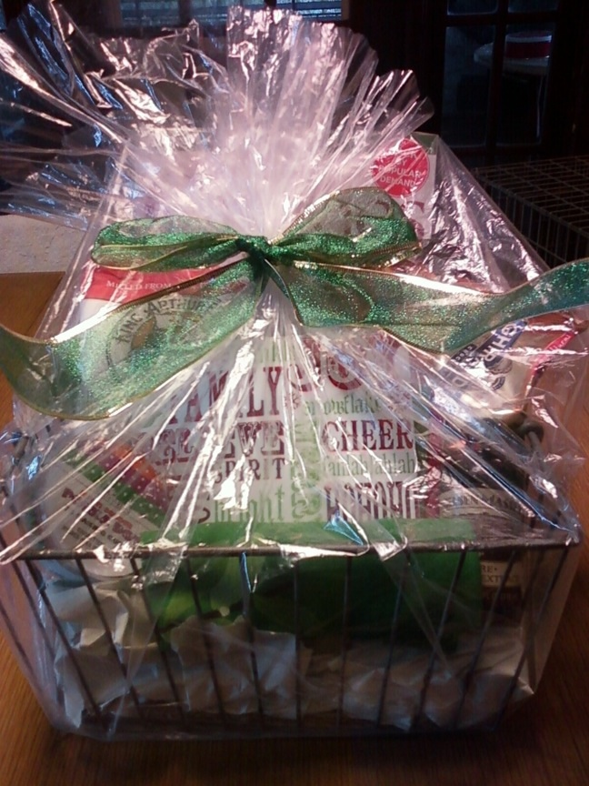 Baking basket wrapped 11-12