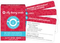 City dining cards syracuse