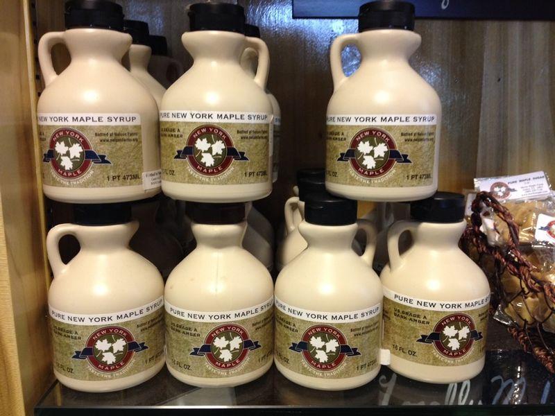 Taste NY maple syrup nelson farms