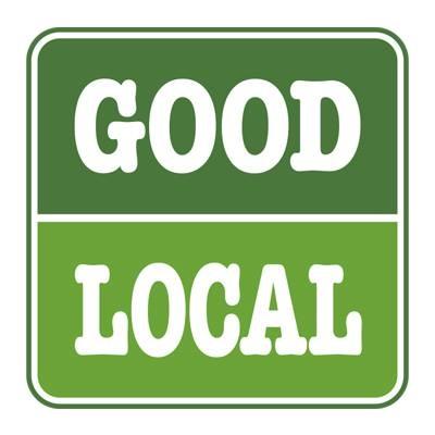 Caz Market Good Local Sign
