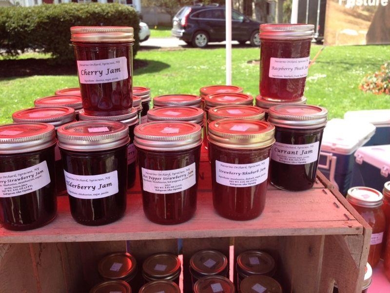 Cazenovia Market Jams Navarino Orchard