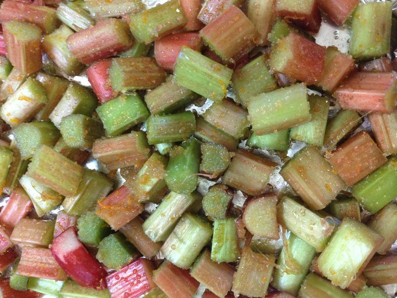 Rhubarb sliced H