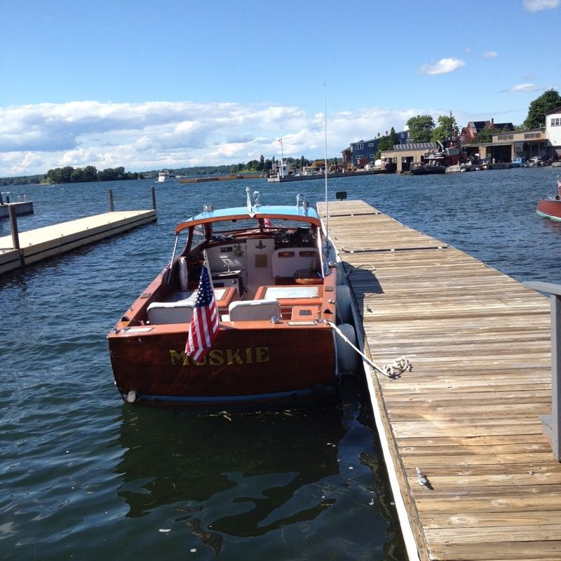 Clayton antique boat museum boat