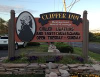 Clayton clipper inn sign