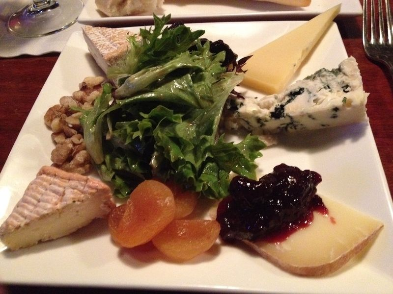 Scotch cheese plate