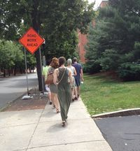Food tour walk franklin square