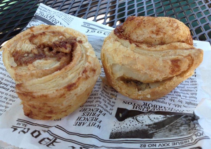 Clayton back door bakery cinnamon rolls