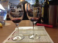 Clayton thousand islands winery glasses sheet