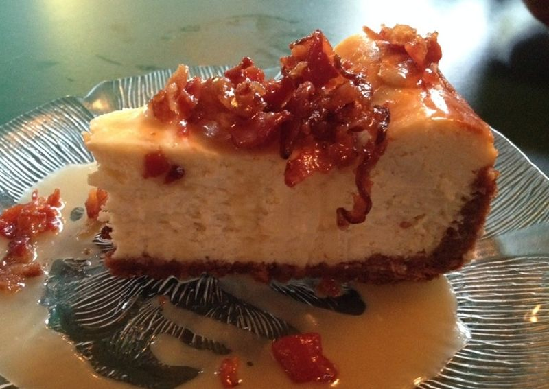 Ray brothers maple bacon cheesecake