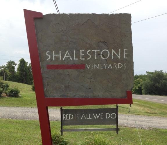 Shalestone sign