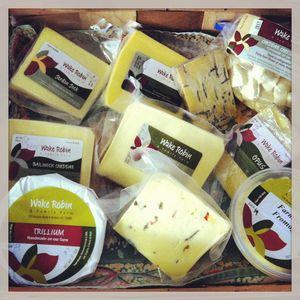 SM Wake robin cheeses