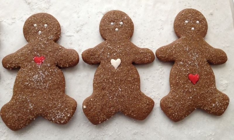 Gingerbread trio 2014 SM