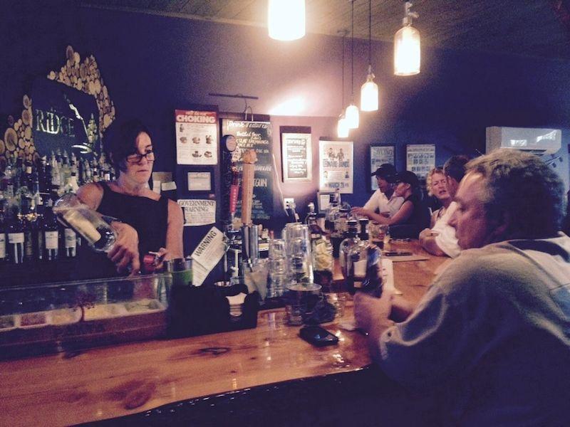 Ridge bar