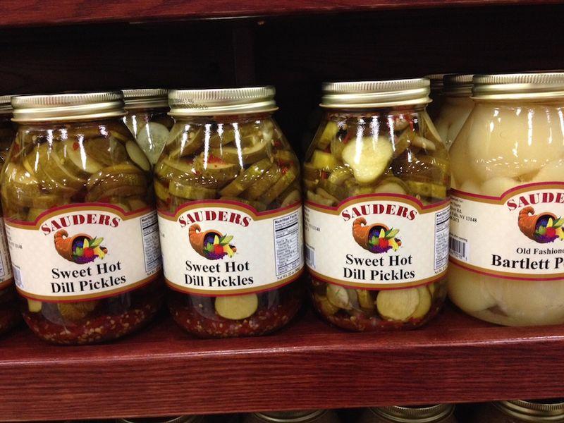 Sauders pickles