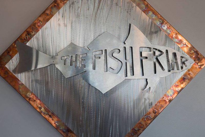 Fish friar sign