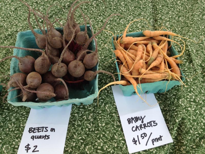 Brady Faith Farm produce