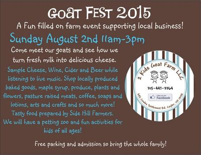 2 Kids Goat Fest Card