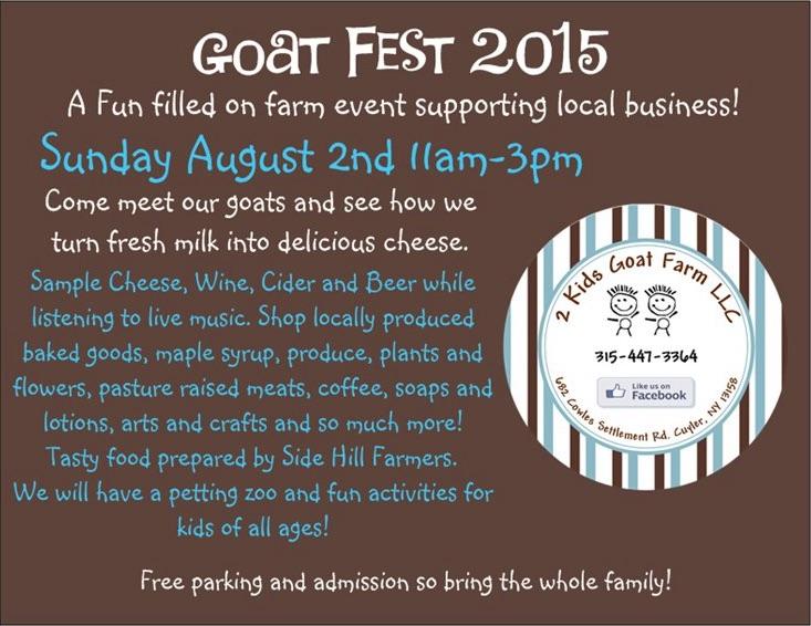 2 Kids Goat Fest Card