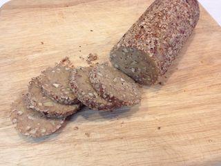 Maple cookies log