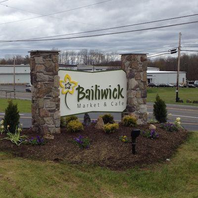 Bailiwick sign