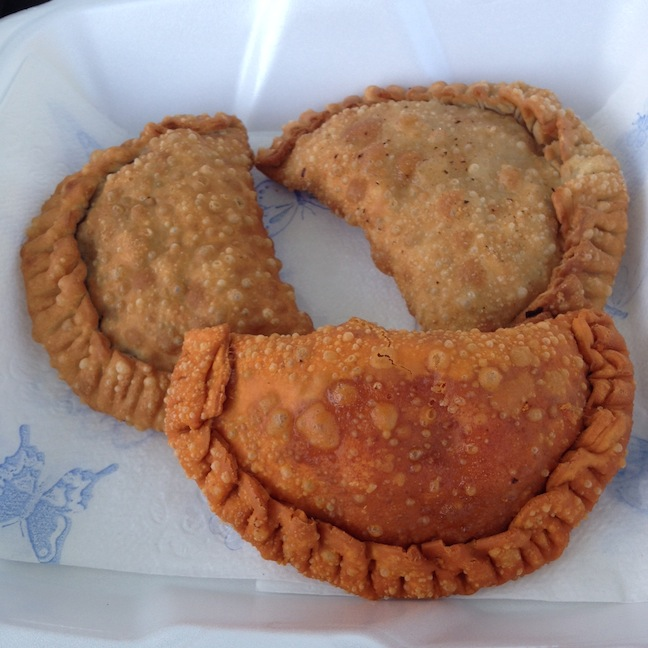 Food truck rodeo Sarita's mmmpanadas