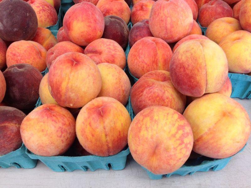 Sauders peaches